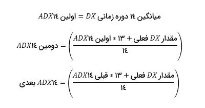 آموزش اندیکاتور ADX - فرمول3