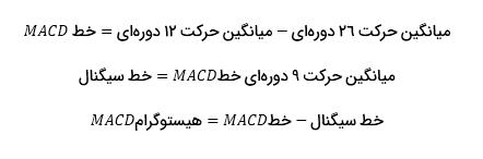 آموزش اندیکاتور مکدی - فرمول1