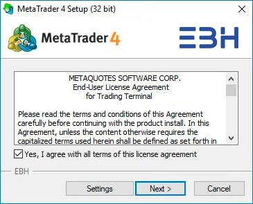 نصب متاتریدر 4 بر روی کامپیوتر-4